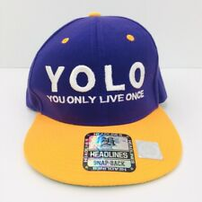 Yolo Snapback Ball Cap You Only Live Once