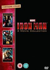 IRON MAN Trilogy Complete Movie Collection DVD Box set Part 1 2 3 New Sealed