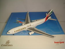 """Herpa Wings 500 Emirates EK A330-200 """"2000s color - www.emirates.com"""" 1:500 NG"""
