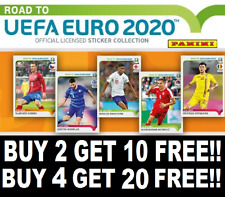 PANINI ROAD TO EURO 2020 STICKERS ☆ BUY 2 GET 10 FREE ☆ BUY 4 GET 20 FREE #1-249