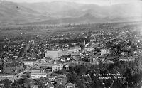 Real Photo Postcard Birds Eye View of Ashland, Oregon~110837