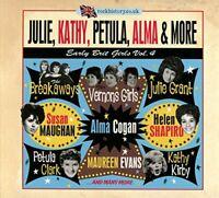 Julie, Kathy, Petula, Alma and More - Early Brit Girls Vol. 4 [CD]