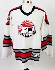 Vintage 90's CCM AHL Hockey Maine Portland Pirates Jersey Stitched Men's XXL 2XL