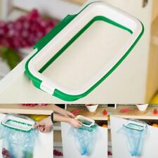 Plastic Home Hanging Kitchen Cabinet Door Trash Rack Style Storage Garbage Bag L