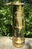 Vtg 1982 E Thomas & Williams Cambrian Miners Lantern Lamp Wales No. 100111 Unusd