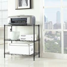 3-Tier Kitchen Storage Cart Microwave Oven Rack Utility Workstation Stand Shelf