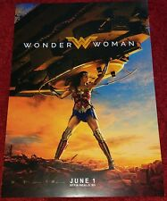 Official Wonder Woman Cinema Movie Poster Gal Gadot