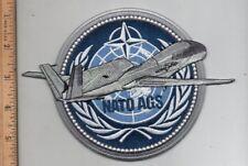 Original USAF Northrop Grumman RQ-4 NATO AGS Global Hawk Patch -Large 7.0x5.0 in