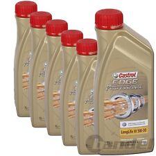 [8,32€/L] 6x1 Liter Castrol Edge Professional  Longlife III 5W-30 5W30