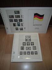 Lindner t RDA vordruckblätter de 1985-1990 completamente buena conservación (664)