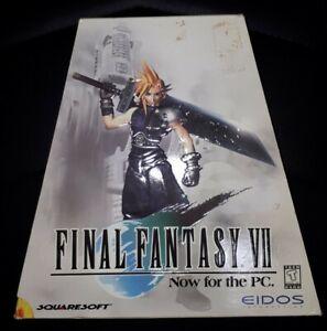 Final Fantasy VII big box PC Trapezoid version complete