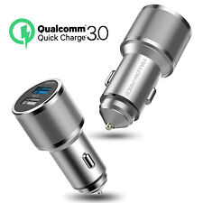 Samsung Car Charger Quick Charge 3.0 Adapter for All Micro USB Devices- Aluminum