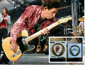KEITH RICHARDS THE ROLLING STONES 2006 GUITAR PICK 001