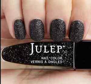 NEW! Julep nail polish SIGOURNEY ~ Black holographic stardust ~ Full size