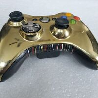 Microsoft XBOX 360 OEM Wireless Controller Gold Chrome 1403 Star Wars C3PO