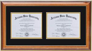 Double diploma frame RC-H 8x6,11x8.5,12x15,8x10,5x7,7x9,9x12,10x13,11x14,14x17