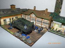 JDK Dioramenbau 1:87 - UNIKAT Handarbeitsmodell Kaserne Henschel Wehrmacht