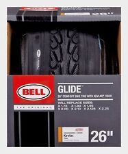 "BELL SPORTS 26"" x 1.75-2.125"" GLIDE Bike Bicycle Tire COMFORT Tread 7064282 New!"