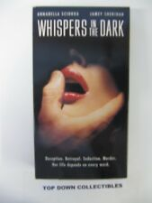 Whispers In The Dark   Annabella Sciorra, Jamey Sheridan    VHS Movie   Like New