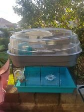 Hamster cage used