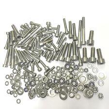 210 Stainless Allen Steel Bolts KIT + EXTRAS SUZUKI DR 650 R DAKAR (1990 - 1995)