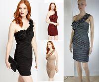 Vestito Donna Vestitino Miniabito Abito PINK BOOM SA342 Tg S M L