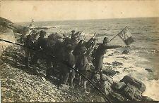 CARTE PHOTO 140915 - CORSE - Ernest Saumade de Paoli chef scout plage