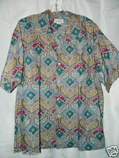 Reyn Spooner Staters Hawaiian Shirt Paisley Print  Size XXL Made in Hawaii