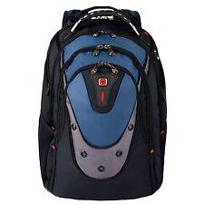 Wenger SwissGear Ibex Backpack (Black/Blue) for 17 inch Laptop