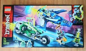 NEW LEGO 71709 NINJAGO JAY AND LLOYD'S VELOCITY RACERS BRAND NEW SEALED