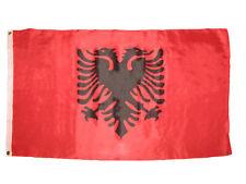 3x5 Albania Albanian Flag 3'x5' House Banner Grommets Super Polyester Premium