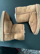 Girls Brown Ugg Boots Size UK1 Eu33