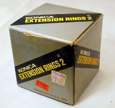 Empty Box  for Konica Extension Rings 2 AR mount  Lens