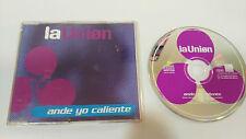LA UNION ANDE YO CALIENTE SINGLE CD GERMAN EDITION