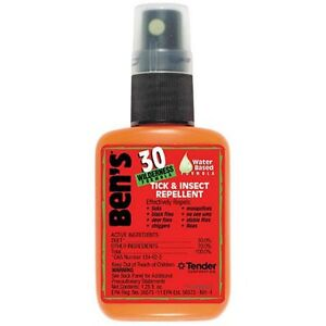 Ben's 30 Deet Tick & Insect Repellent Spray - 1.25 oz