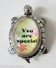 L You are special LUCKY TURTLE FIGURINE zinc Inspirational Life Message ganz