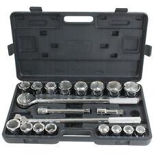 Buffalo Pro-Series 21 Piece 3/4 Inch Drive SAE Socket Set PS07485 Socket Set NEW