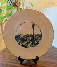 Seattle Worlds Fair 1962 Century 21 FREDERICK & NELSON Department Store PLATE