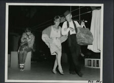 FRED ASTAIRE + PETULA CLARK CANDID - 1968 VINTAGE PHOTO - COPPOLA DIRECTED
