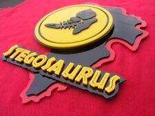 Stegosaurus 3D ART sign new display Raptor Dinosaur fossil Jurassic T Rex World