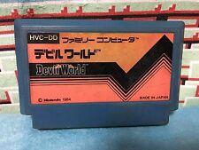 Devil World Famicom Japan NTSC-J Nintendo Family Computer