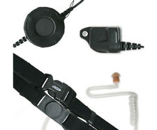 ARC T25026 Neck Strap Throat Mic for Harris (MA/COM) P Series & XG 2-Way Radios