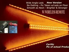 4pc WIRELESS REMOTE ORANGE LEDS-Neon Effect (LED-TECHNOLOGY) Car Underbody Kits