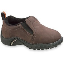 NEW Merrell Jungle Moc Toddler Shoes, Toddler US 4, Dark Brown