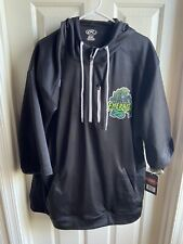 Eugene Emeralds MiLB Rawlings Short sleeve hoodie XXL