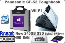 Panasonic CF-52 WIN10 Toughbook✔️New 240GB SSD✔️700 HRS_WI-FI_DVD 💰DISCOUNT💰