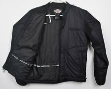 Harley-Davidson FXRG Men's Sz Medium LINER ONLY Black Motorcycle Riding Jacket