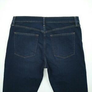 J Brand Tyler Slim Fit Straight Leg Dark Blue Stretch Denim Jeans Men's Size 34