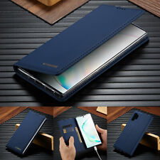 For Samsung Galaxy Note 10/S10+/S9/S8 Leather Flip Slim Case Wallet Stand Cover