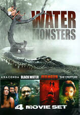 Water Monsters Collection DVD 4-Movie Film Set BRAND NEW